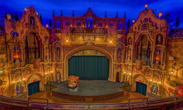 Haunted Places in Tampa Theatre Florida