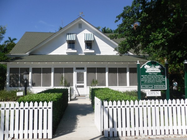 Historic Palm Cottage Haunted Place in Naples Florida
