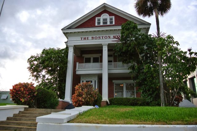 The Boston House Haunted House of Florida