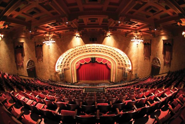 The Florida Theatre Haunted Place in Jacksonville Florida
