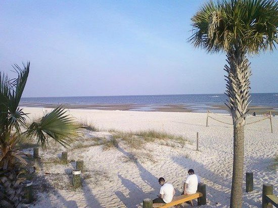 Biloxi Beach Closest from New Orleans Louisiana