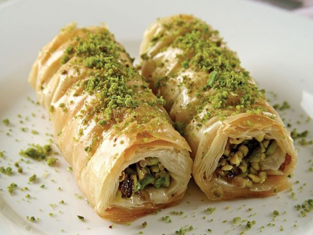 Burma Baklava – Sweet Confectionery Stuffed with Pistachios