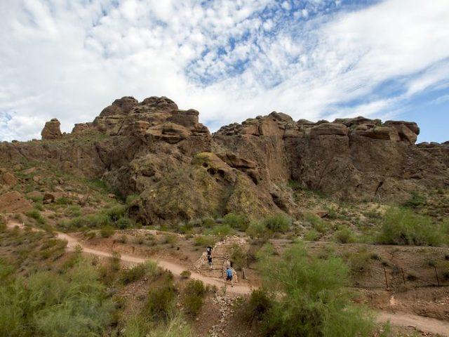 Echo Canyon AZ Phoenix Hiking Trail