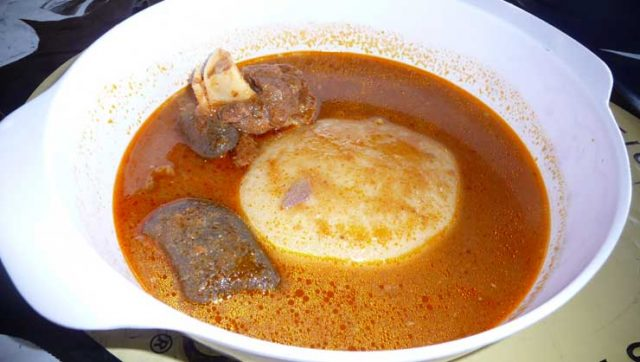 Fufu Ghanaian Food