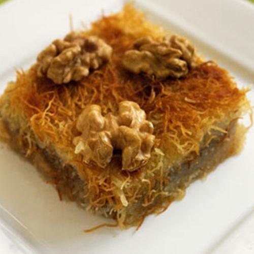 Kadayif – Baked Traditional Palestinian Dessert