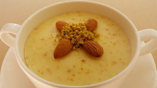 Keskul – Turkish Almond Milk Custard