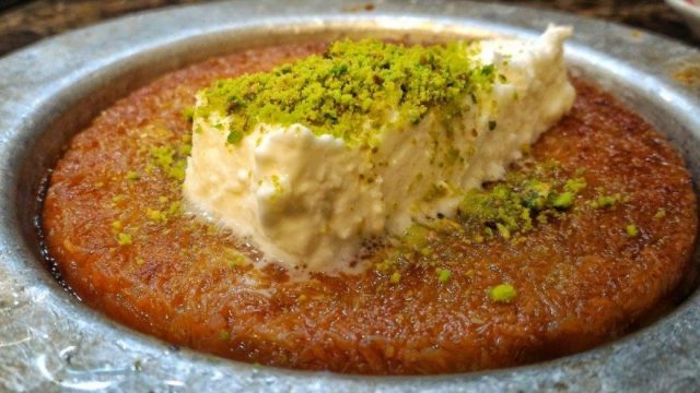 Kunefe – Ancient Turkish-Arabian Dessert
