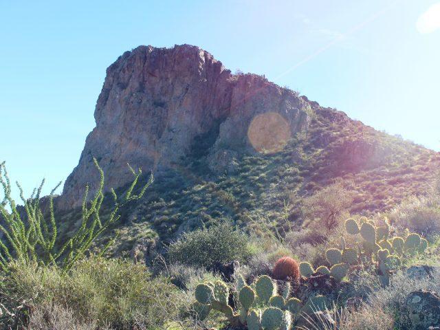 Northwest Phoenix Hiking Trail Vulture Peak