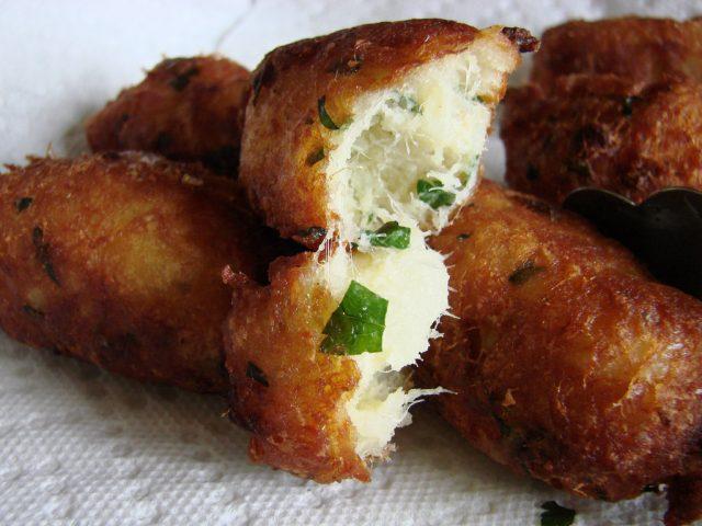 Pasteis de Bacalhau Portuguese Food
