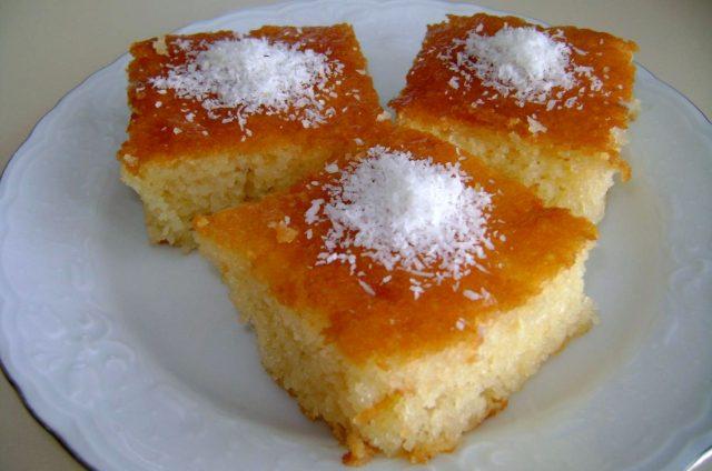 Revani – Sweet Cake Pastry Dish