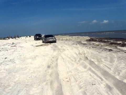 Rutherford Beach in Louisiana Beaches