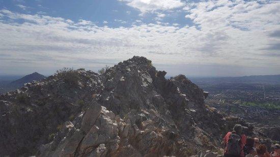 Squaw Peak Summit Piestewa Phoenix Hiking Trail