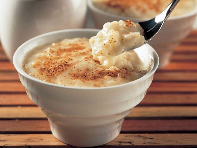 Sutlac – Turkish Sweet Rice Pudding