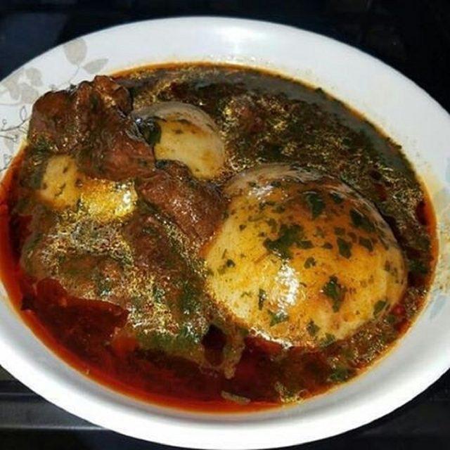 Tuo Zaafi Ghanaian Food