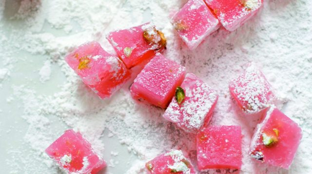 Turkish Delight Rahat Lokum Jelly Sweets Turkey