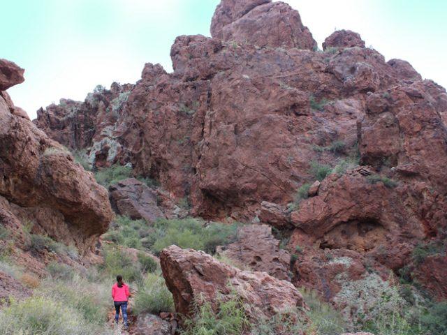Vulture Peak Hiking Trail Northwest Phoenix