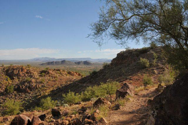 Vulture Peak Phoenix Hiking Trail Northwest