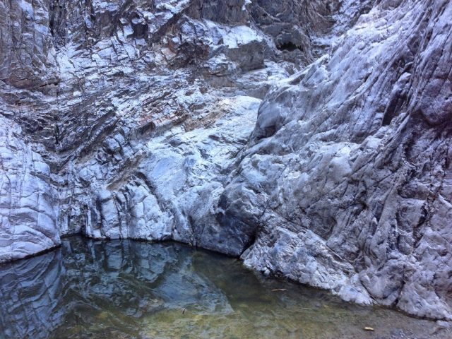 Waterfall Phoenix Hiking Trail White Tank Mountain