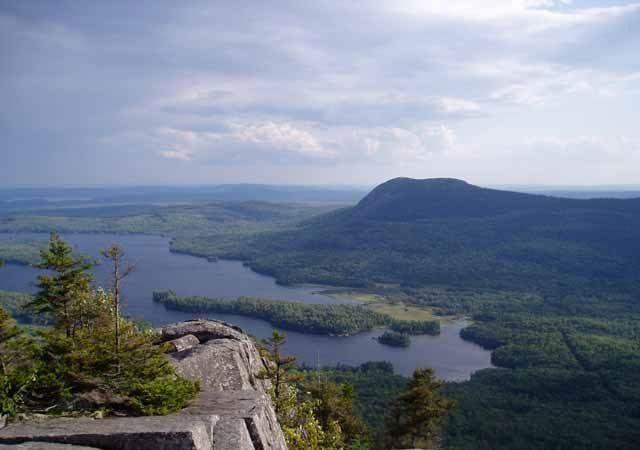 Barren Mountain on the Appalachian Trail ME