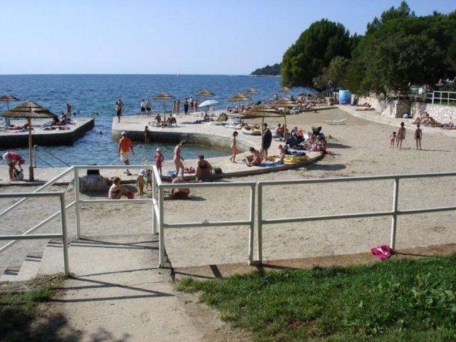 Brulo Beach Croatia Porec