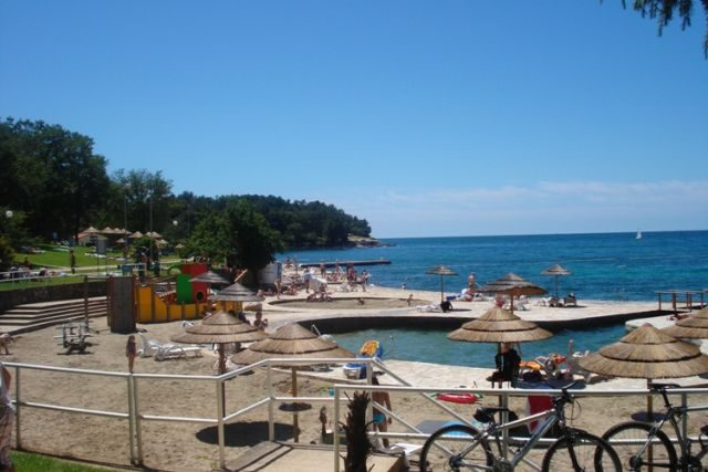 Brulo Beach in Croatia