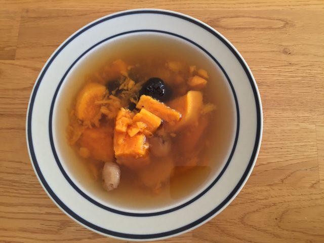 Chinese Sweet Potato Soup