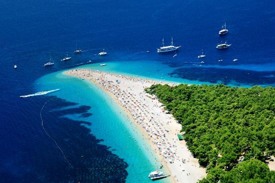 Golden Horn Beach Croatia