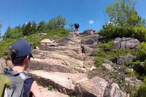 Hiking in Maine Portland Acadia Mountain