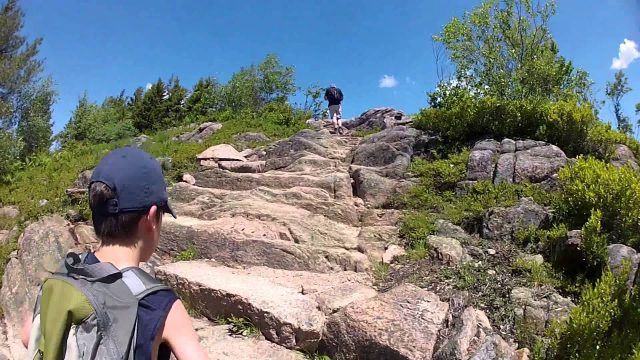 Hiking in Maine Portland Acadia Mountain