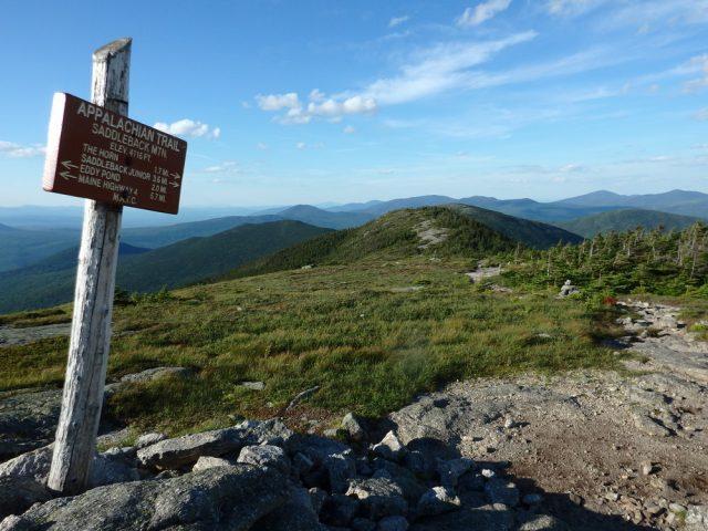 Hiking in Maine Saddleback Mountain Hiking Trail Western