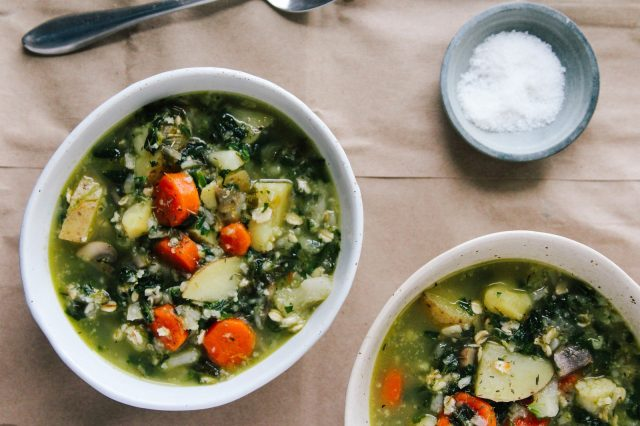 Iceland Vegetarian Vegetable and Oat Soup