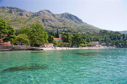 Lapad Bay Dubrovnik Croatia Beach