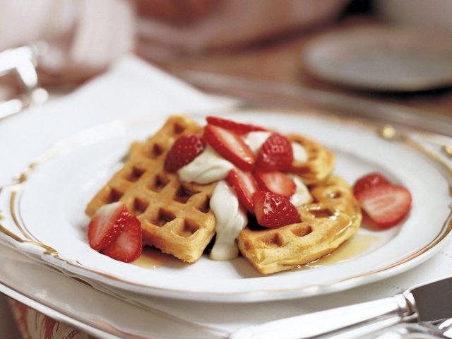 Liege Belgian Waffles Famous Food