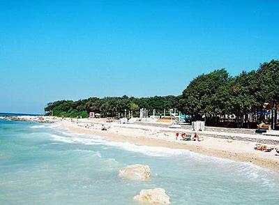 Lone Bay Beach in Croatia