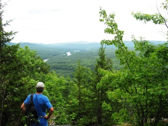 Maine Hiking in Mount Will Hiking Trail Bethel