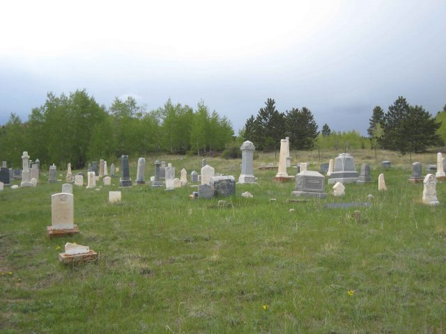 Masonic Cemetery Haunted Place in Colorado