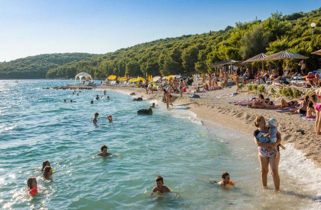 Medena Beach in Croatia