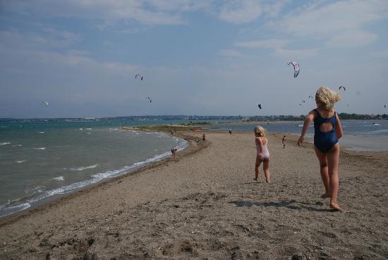 Ninska Laguna Beach in Zadar Croatia