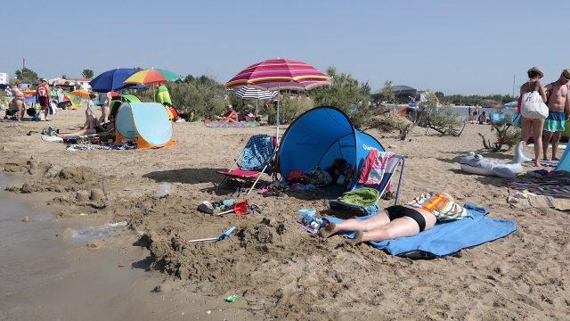 Ninska Laguna Best Beach in Croatia