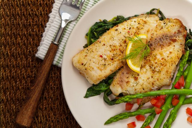 Non-vegetarian Icelandic Dish Baked Fish