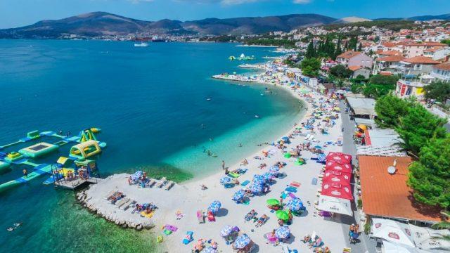Okrug Gornji Beach in Croatia