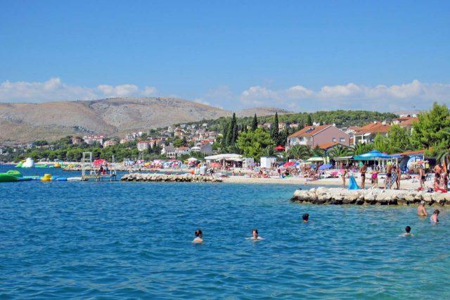 Okrug Gornji Ciovo Croatia Beach