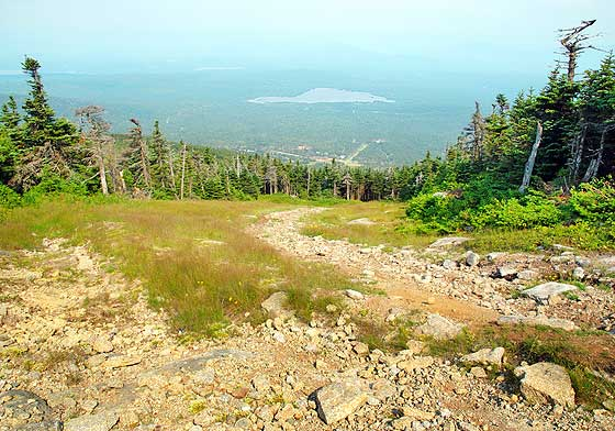 Saddleback Mountain in Maine Hiking Trail Western Part
