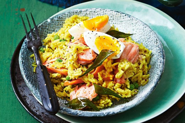 Scottish Kedgeree Fish & Rice Dish