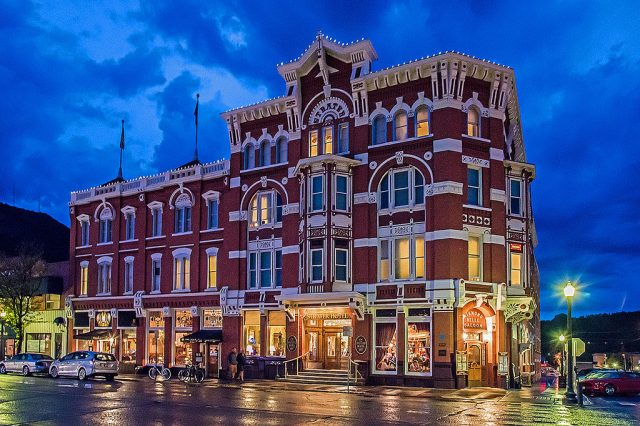 Strater Hotel Haunted in Colorado