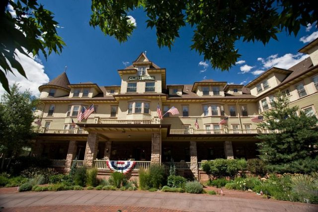 The Cliff House Haunted Hotel Colorado