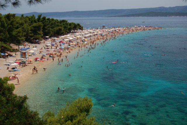 Zlatni Rat Beach in Croatia