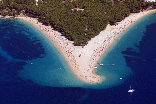 Zlatni Rat Best Beach in Croatia