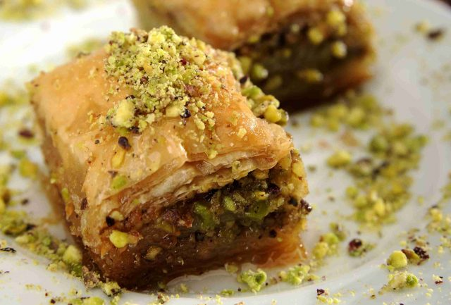 Baklava Christmas Sweet of Albania