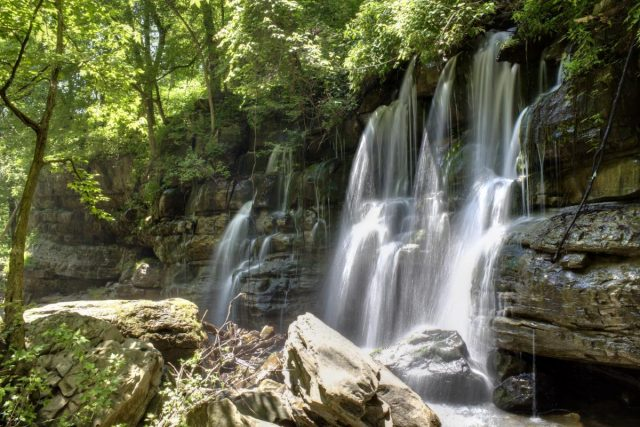 Best Middle Creek Waterfalls in Tennessee